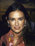 Actress Demi Moore at Talk Magazine Launch Party Premium Photographic Print by Dave Allocca