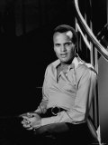 Singer Harry Belafonte Premium Photographic Print by Allan Grant