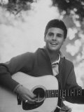 Singer Ricky Nelson Premium Photographic Print by Ralph Crane