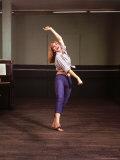 Greek Actress Melina Mercouri Premium fototryk af Henry Groskinsky