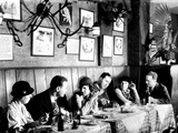Patrons at a Prohibition Protected Speakeasy Popular for Drinking Aviators Photographic Print by Margaret Bourke-White