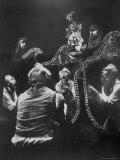 "Richard Kiley in a Scene From ""Man of La Mancha"" Premium fototryk af Henry Groskinsky"