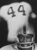 Syracuse University Halfback Floyd Little Premium fototryk af Henry Groskinsky