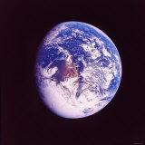 Eclipsed Earth Taken by Apollo 17 as It Traveled Toward Moon on NASA Lunar Landing Mission Fotografie-Druck