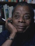 James Baldwin Premium fotoprint van Ted Thai