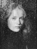 Isabelle Huppert Premium fotoprint van Ted Thai