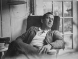 John Steinbeck Premium Photographic Print by Peter Stackpole