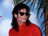 Michael Jackson Premium fotografisk trykk av Kevin Winter