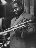 Louis Armstrong Premium Photographic Print by Carl Mydans