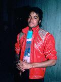 Michael Jackson Premium fototryk af John Paschal