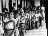Entire Population of Costa Rica is Inoculated Against Smallpox, Measles and Polio Photographic Print by Lynn Pelham