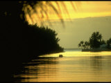 Sunset at Key Biscayne, Florida Photographic Print by George Silk