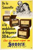 Sonora Radio - De La Sonorette Sammlerdrucke von  Arestein