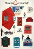 Olivetti Domus Life Sammlerdrucke von  Susay