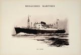 Mess Maritimes- Jean Laborde Impressão colecionável por  Chapelet