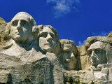 Mount Rushmore in South Dakota, USA Stampa fotografica di Chuck Haney