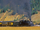 Durango, Silverton Train, Colorado, USA Photographic Print by Chuck Haney