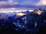 Sunrise Over Andes Near Refugio Otto Meiling, Nahuel Huapi National Park, Argentina Fotografisk trykk av Michael Taylor