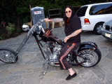 Ozzy Osbourne at the Family Home in Los Angeles, December 2003 Photographic Print