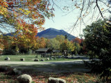 Katahdin Stream Campground, Mt. Katahdin, Maine, USA Impressão fotográfica por Jerry & Marcy Monkman