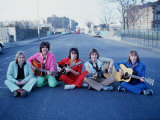 The Bay City Rollers 1970s Pop Group Photographic Print