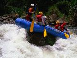 Rafting on the Chiriqui River, Panama Lámina fotográfica por Alfredo Maiquez
