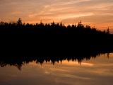 Sunset over Bass Harbor Marsh, Acadia National Park, Maine, USA Impressão fotográfica por Jerry & Marcy Monkman