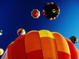 Hot-Air Balloons, Reno Balloon Festival, Reno, U.S.A. Photographic Print by Levesque Kevin