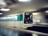 Metro, Paris, France Fotografie-Druck von David Barnes