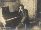 Louis-Albert Bourgault-Ducoudray French Composer and Musicologist Lámina fotográfica por Henri Manuel
