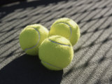 Three Tennis Balls Photographic Print