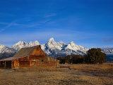 Shanes Barn, Grand Teton National Park, WY Stampa fotografica di Elizabeth DeLaney