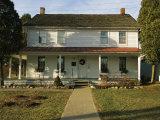 A View of Harriett Tubmans House Reproduction photographique par Ira Block