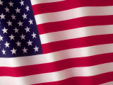 American Flag Photographic Print by Robert Cattan