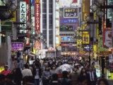 Kabukicho Shinjuku District, Tokyo, Japan Lámina fotográfica