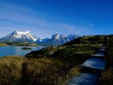 Torres Del Paine National Park, Chile Fotografisk tryk