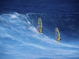 Two Windsurfers Photographic Print