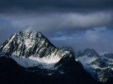 Peak of Piz Linard, Swiss National Park, Zernez, Switzerland Photographic Print by Martin Moos