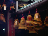 Incense Coils at A-Ma Temple (Ma Kok Miu), Macau, China Photographic Print by Richard I'Anson