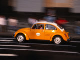 Speeding Taxi on Paseo De La Reforma, Mexico City, Mexico Photographic Print by Setchfield Neil