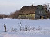 Rural Area Around Gimli Stampa fotografica di Keith Levit