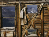 An Old Miners Shack with a View of the San Juan Mountains Photographic Print by Gordon Wiltsie