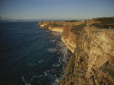 Shoreline Cliffs Near Esperance Photographic Print by Sam Abell