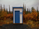 Outhouse in the Bush Photographic Print by Raymond Gehman