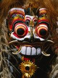 Mask of Mythological Creature, Ubud, Indonesia Fotografisk tryk af Paul Beinssen