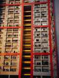 Apartment Buildings, Wanchai, Hong Kong, China Photographic Print by Lawrence Worcester