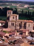 Penaranda De Duero Seen from Castillo, Burgos, Spain Fotografie-Druck von Damien Simonis