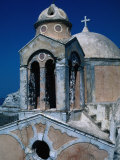 The Crumbling Chapel Overlooking the Aegean Sea, Santorini Island, Greece Photographic Print by Jeffrey Becom