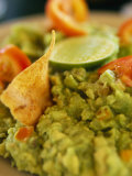 A Close View of Guacamole Dip Photographic Print by Michael Melford