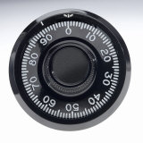 Close-up of Combination Lock Dial Photographic Print by Martin Paul